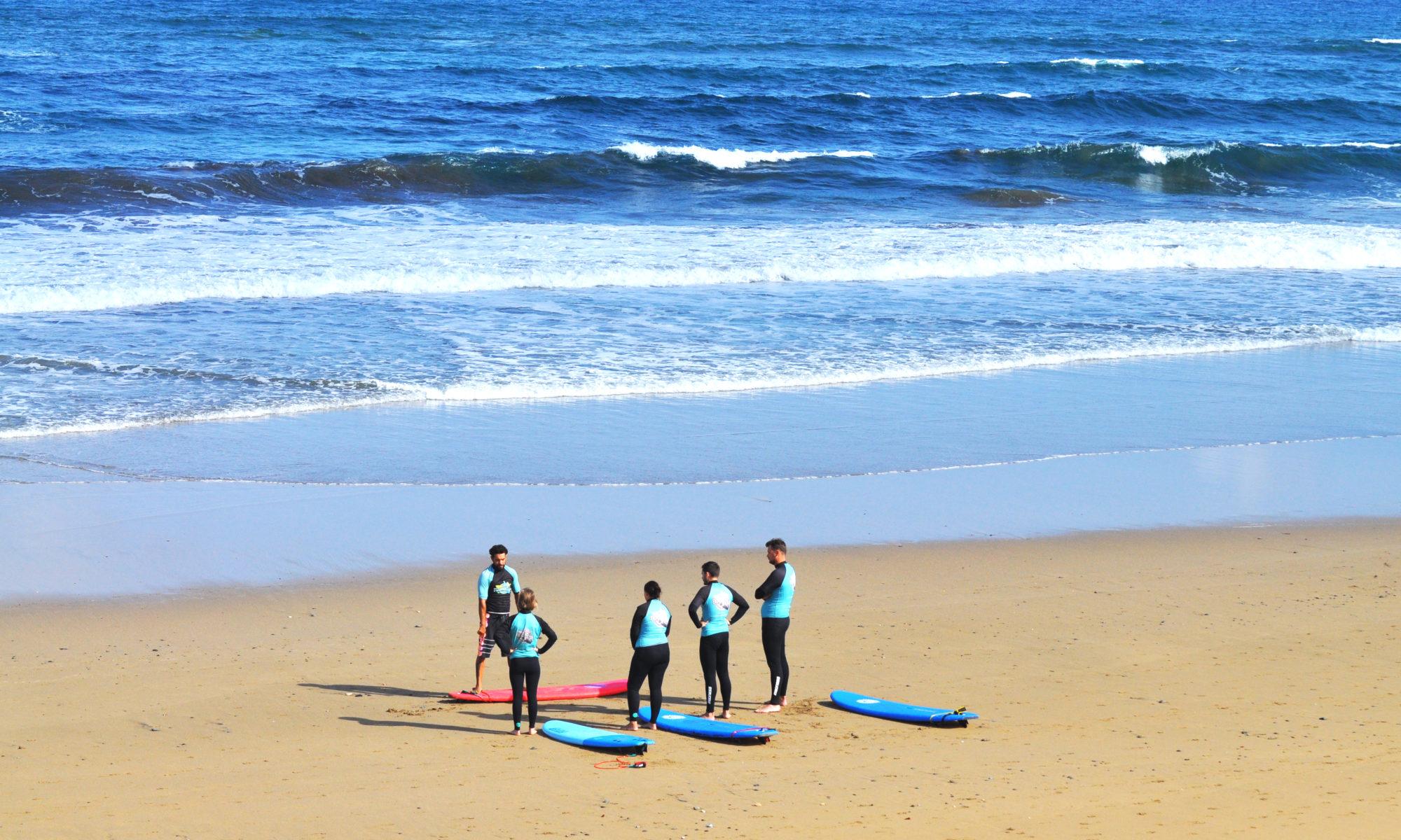 nauka surfingu zima
